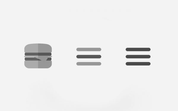 Hamburger Menu With Flexbox