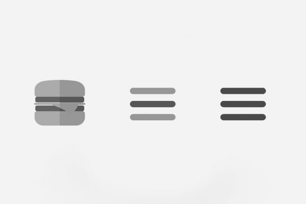 Hamburger Menu With Flexbox
